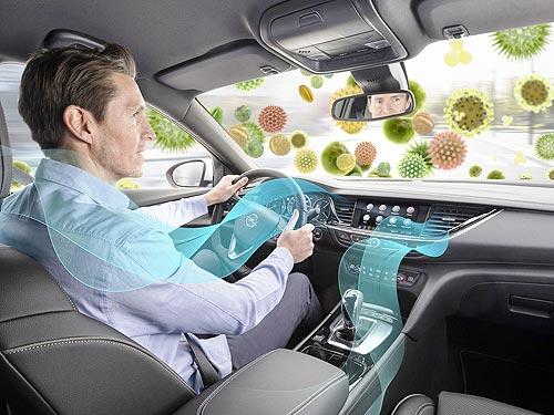 Глубокий вдох: все новые автомобили Opel оснащены противоалергенными фильтрами