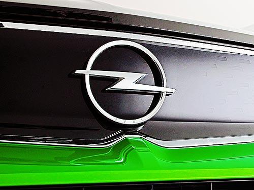 Opel выпустил первую модель с новым логотипом