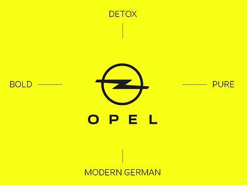 Opel представил новый логотип и новый фирменный стиль - Opel