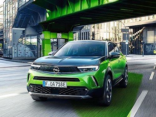 Каким будет новый Opel Mokka. В продаже с начала 2021 г.