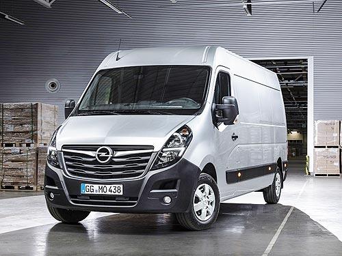 В Украине доступны новые модификации фургона Opel Movano