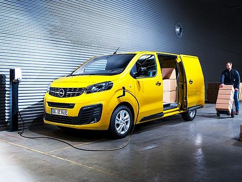 В Британии заказали крупнейшую партию электрических фургонов Opel/Vauxhall Vivaro-e
