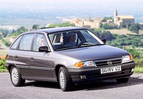 Opel Astra празднует 30-летний юбилей - Opel