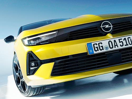 Дебютировало новое поколение Opel Astra. В Украине – в начале 2022 года