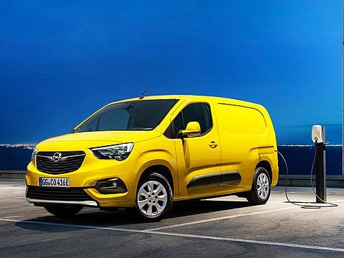 Каким будет новый электрический вен Opel Combo-e