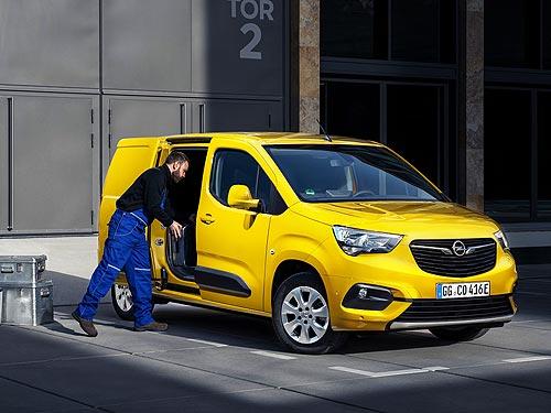 Каким будет новый электрический вен Opel Combo-e - Opel