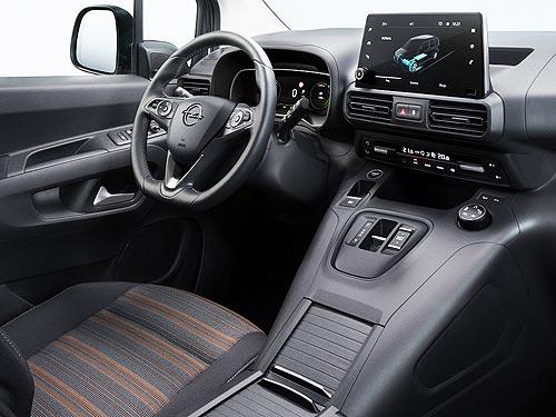 Каким будет новый электрический Opel Combo-e Life - Opel