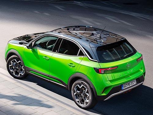 Стали известны комплектации новой Opel Mokka для Украины - Opel