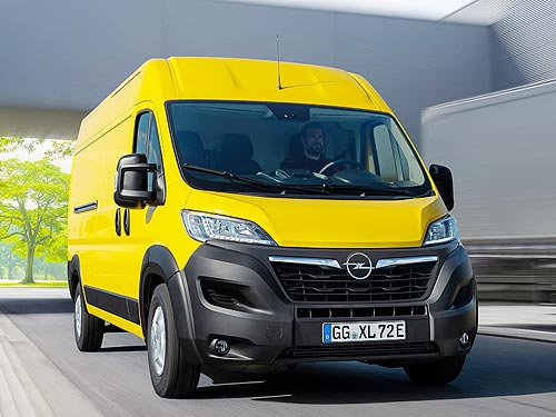 Какими будут новые фургоны Opel Movano и Opel Movano-e
