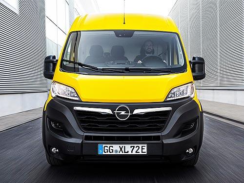 Какими будут новые фургоны Opel Movano и Opel Movano-e - Opel