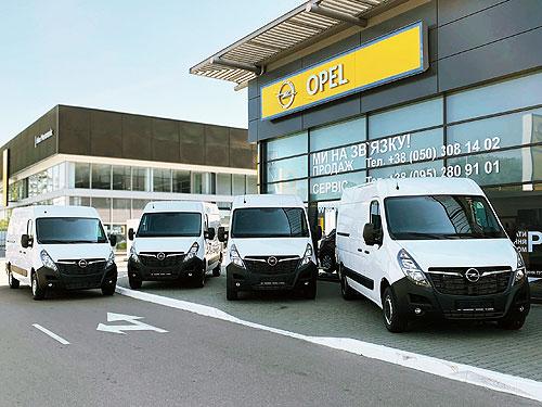 Компания JCB выбрала Opel Movano для своего автопарка