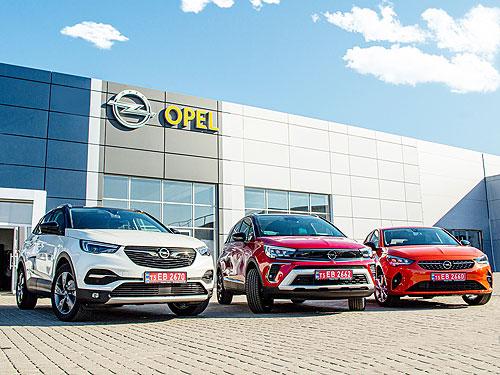 В Ивано-Франковске начал работу первый дилер Opel - Opel