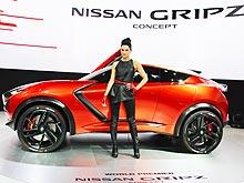 Nissan показал во Франкфурте будущий Juke и новую Navara - Nissan
