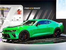 Chevrolet в Женеве презентовал «горячий» Camaro Track Concept - Chevrolet