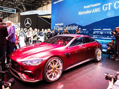 Mercedes-Benz представил в Женеве 4 мировые и 2 европейские премьеры - Mercedes-Benz