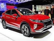 В Европе стартуют продажи Mitsubishi Eclipse Cross - Mitsubishi