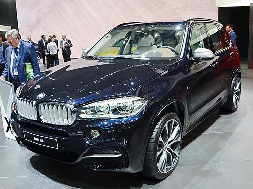 BMW на автосалоне в Женеве представила несколько новинок - BMW