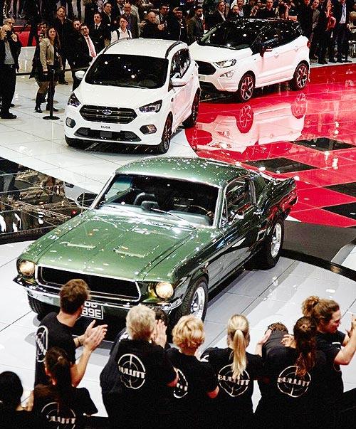 Ford представил на автосалоне в Женеве сразу несколько новинок - Ford