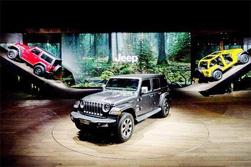 Новинка Женевы Jeep Wrangler появится в Украине уже летом