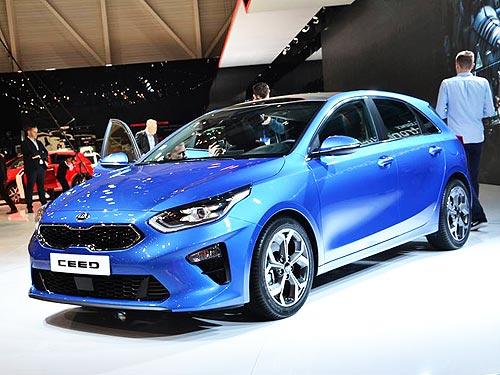 В Женеве дебютировал новый Kia Ceed - Kia