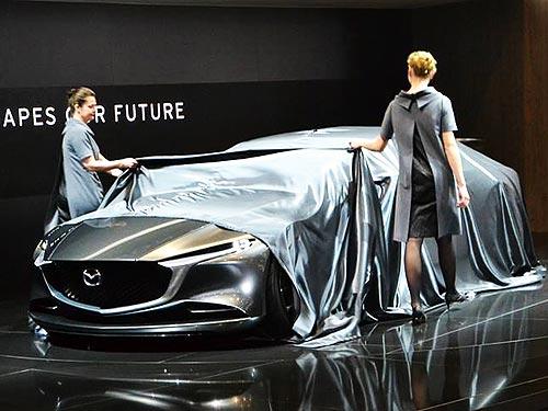 Mazda представила яркий футуристический концепт