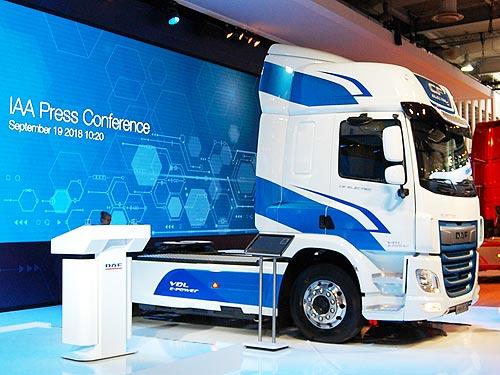 DAF в Ганновере представил линейку грузовиков ближайшего будущего - DAF