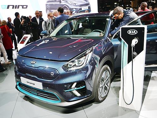 Стали известны подробности о европейской версии электромобиля Kia Niro EV