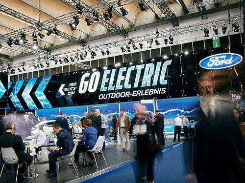 Ford представил новую линейку электромобилей