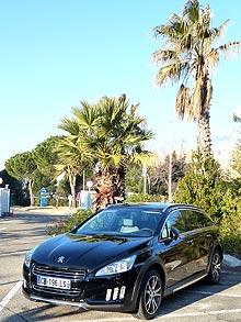 Гибридный Peugeot 508 RXH начнут продавать в Украине с февраля 2014 года. Объявлена цена - Peugeot