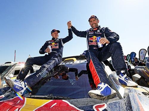 Peugeot стал победителем ралли Дакар 2016 - Peugeot