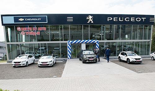 В Днепре открылся концептуальный автоцентр Peugeot - Peugeot