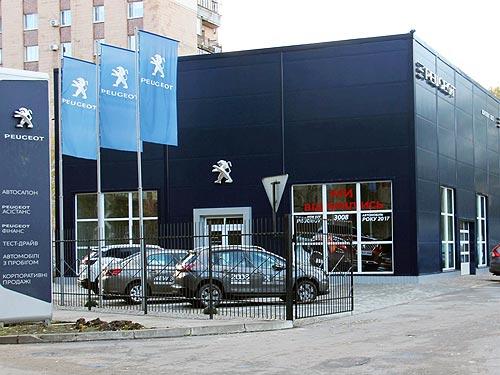 В Полтаве открылся концептуальный автосалон PEUGEOT