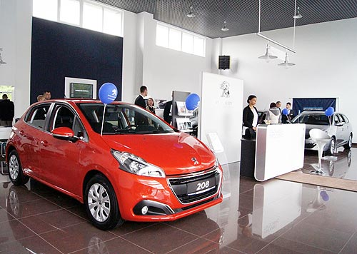 PEUGEOT открыл три новых дилерских центра в Украине - PEUGEOT