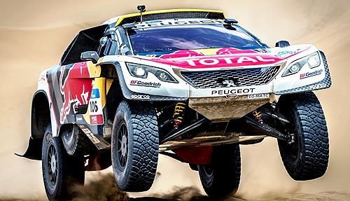 Peugeot второй год подряд побеждает в ралли «Шелковый путь» - Peugeot