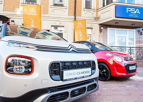 Peugeot и Citroen в Украине обозначили новые позиции