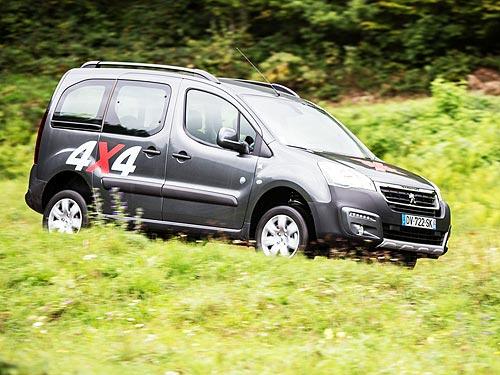 Автомобили PEUGEOT теперь доступны с полным приводом в исполнении 4x4 от DANGEL - PEUGEOT