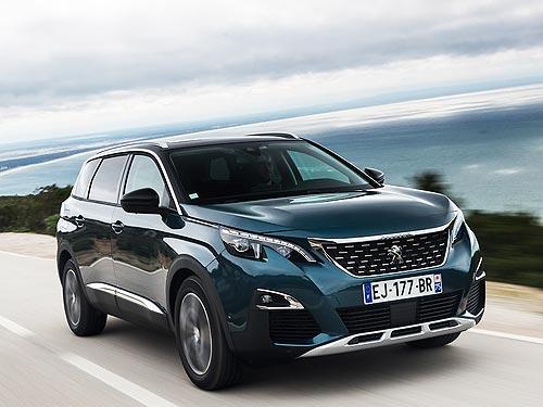 Peugeot 3008 и Peugeot 5008 доступны в кредит под 0,01%* сроком на 3 года - Peugeot