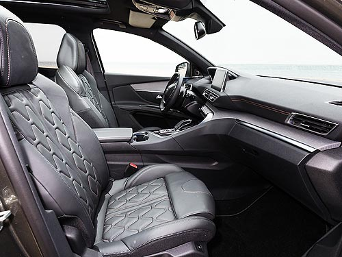 В Украине стартовали продажи 7-местного SUV PEUGEOT 5008 - PEUGEOT