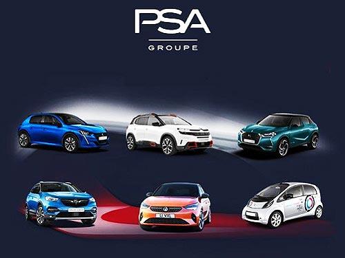 В 2019 году продажи Groupe PSA составили 3,5 млн. автомобилей
