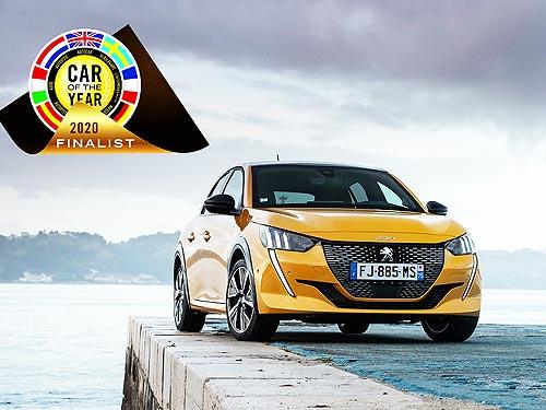 PEUGEOT 208 будет бороться за европейский титул «Автомобиль года 2020»