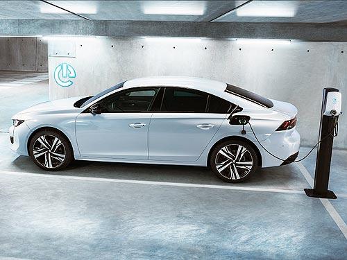 Peugeot представляет гибридные версии 508 и 508 SW с расходом топлива 1,3 л на 100 км