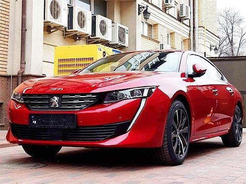 Первый автомобиль Peugeot 508 нового поколения уже приехал в Украину. Известны цены