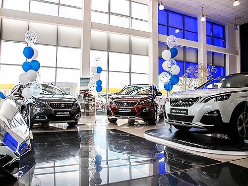 В Украине открылись три новых дилерских центра PEUGEOT