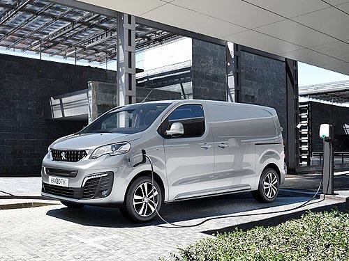 PEUGEOT представил электрический фургон e-EXPERT, который может поставляться и в Украину