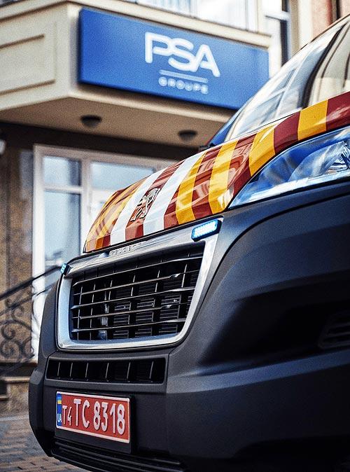 В Украине выпустили уникальный пожарный автомобиль на шасси PEUGEOT Boxer - PEUGEOT