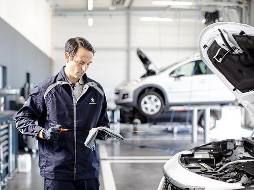 Для автомобилей PEUGEOT, CITROEN, OPEL в возрасте 3+ можно выгодно заменить масло
