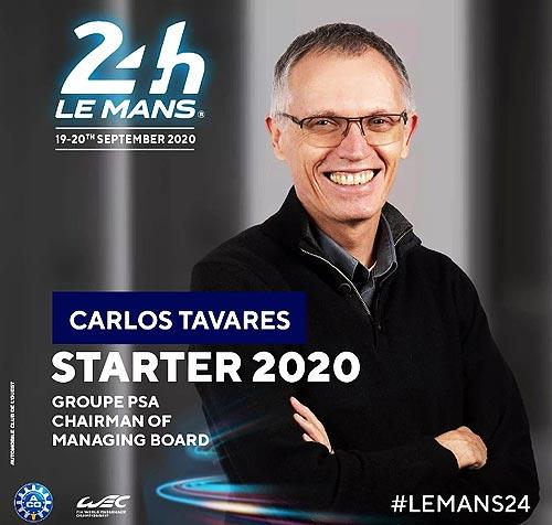 Стало известно, кто даст официальный старт гонке Ле Ман 24 в этом году