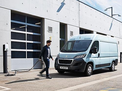 Новый электрический фургон PEUGEOT e-Boxer поступит в продажу уже в конце 2020 года
