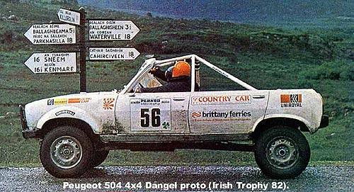 История полного привода Dangel 4x4: проверено Дакаром - Dangel