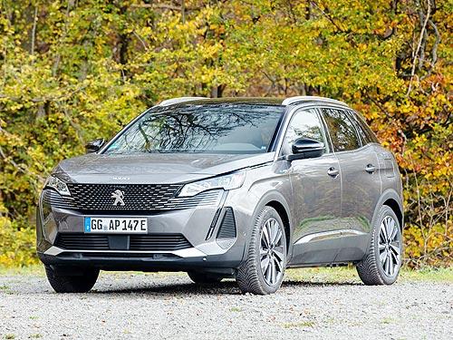 В Украине стартуют продажи уникального 300-сильного гибрида Peugeot 3008 PHEV 4WD